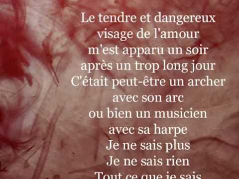 Le Tendre Et Dangereux Visage De Lamour Jacques Prévert