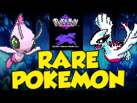 TOP 10 RARE Pokemon To Catch In Pokemon Crystal!