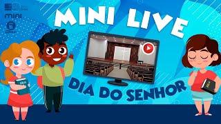 MINI LIVE DIA DO SENHOR - O encontro de Jesus com o jovem rico  - 27/06/2021