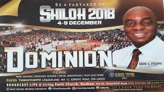 SHILOH 2018 DAY 4: HOUR OF VISITATION ( MORNING SESSION) DECEMBER 07, 2018