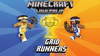 Minecraft Bedrock: Grid Runners Mini-Game | No Commentary