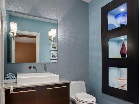 😍 Half Bathroom Design Decorating Ideas 2018 | Makeover Remodel To Full Bath DIY On a Budget