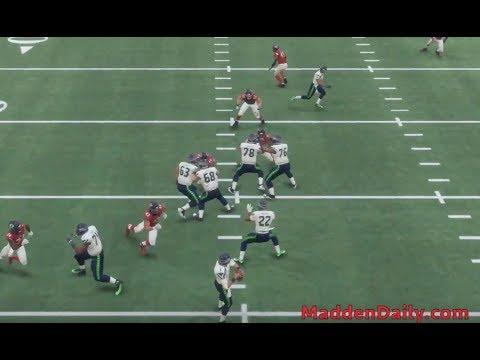 Madden 18 Tips - Nickel 335 Defense - Loop Crash 2 - Easy to Set Up Blitz | Dumb it Down