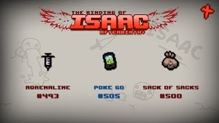 Binding of Isaac: Afterbirth+ Item guide - Adrenaline, Poke Go, Sack of Sacks