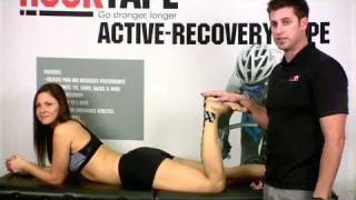How to tape Achilles Tendinitis with Rock Tape Kinesiology Tape