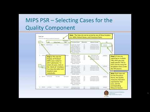 Approving Your MIPS 2017 Data Submission via the SSR