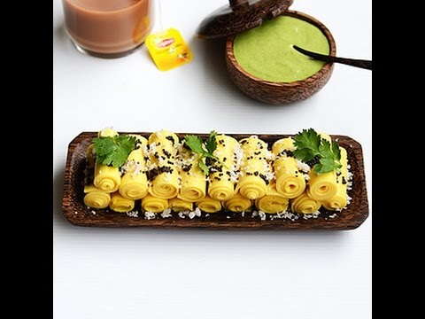 Khandvi how to make khandvi video youtube forumfinder Image collections