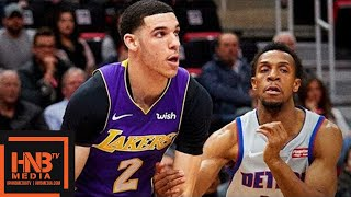 Los Angeles Lakers vs Detroit Pistons Full Game Highlights / March 26 / 2017-18 NBA Season