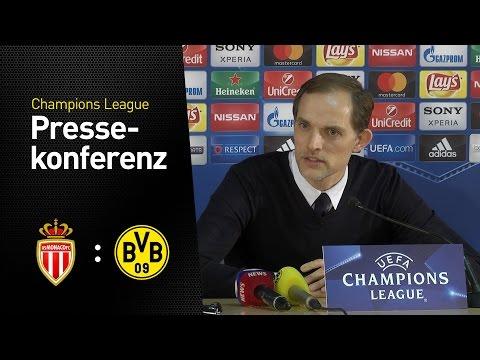 BVB-Pressekonferenz mit Thomas Tuchel | AS Monaco - BVB 3:1