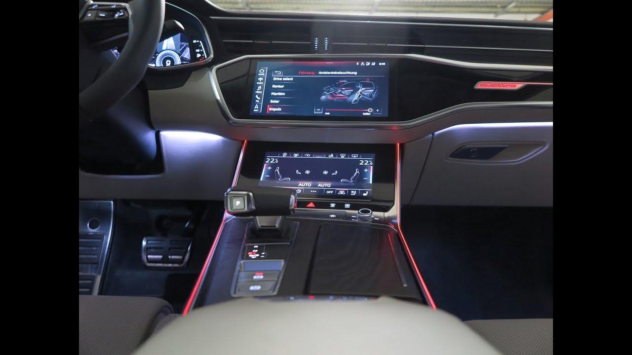 Audi A7 Sportback MMI touch response (2018) - YouTube