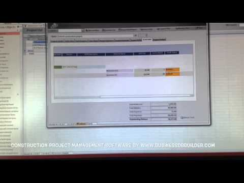 Construction project management software demo