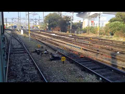 INDIAN RAILWAYS : Approaching Secunderabad by 12759 MAS-HYD exp