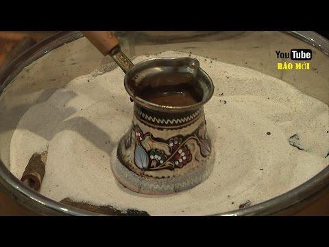 """Cách pha cà phê """"quý tộc"""" đậm đà"""