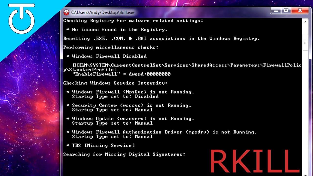 RKill Review \u0026 Tutorial - YouTube