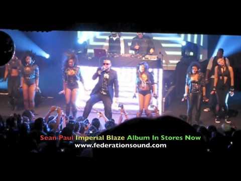 Sean Paul So Fine Live 8.18.09 IMPERIAL BLAZE Album Release Party