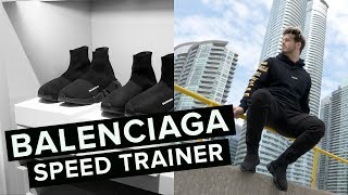 LUXURY SHOPPING VLOG + BALENCIAGA SNEAKER UNBOXING