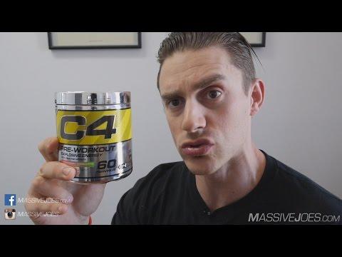 Cellucor C4 G4 Pre-Workout Supplement Review - MassiveJoes.com Raw Review - GEN4 GEN 4