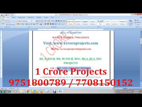 IEEE 2017 - 2018 Networking NS2 Projects Topics Titles List - YouTube
