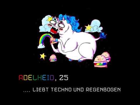 Einhorndame Adelheid sucht einen Techno-Regenbogen     132bpm     Pheromona