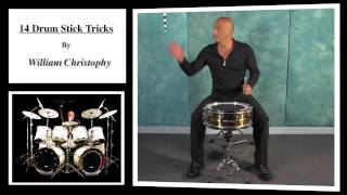 14 Drum Stick Tricks