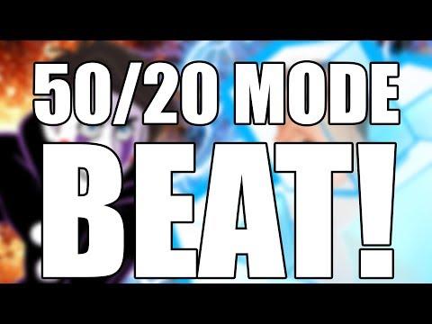 WE DID IT!!! 50/20 MODE BEAT! || Ultimate Custom Night 50/20 Mode