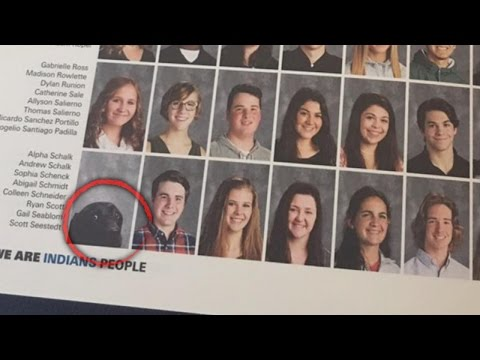 High School Student's Service Dog Gets His Own Photo in Yearbook