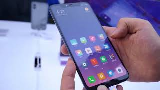 Xiaomi mi8 with underscreen fingerprint scanner