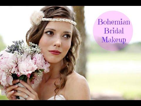 Bohemian Bridal Makeup Tutorial (Maquillaje de novia romántico)