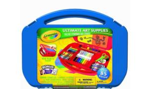 Crayola Ultimate Art Case With Easel Color May Vary