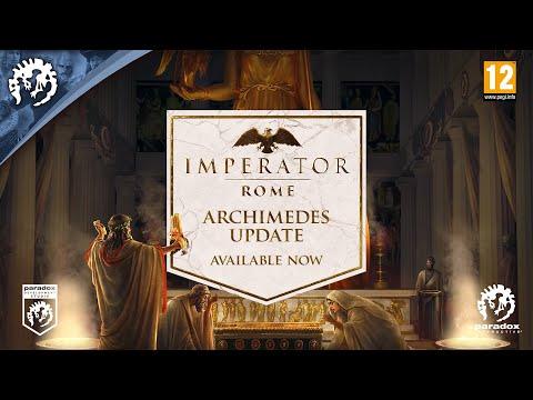 Imperator: Rome | 1.4 Archimedes Update trailer