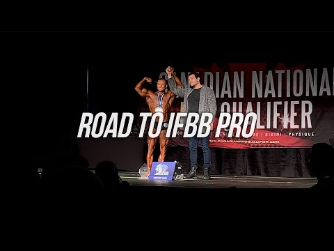 Canadian Nationals - And New IFBB Pro Tyler Johnson