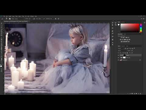 Clean Up And Simple Dodge And Burn - Fairy Magic Chest Photoshop Actions