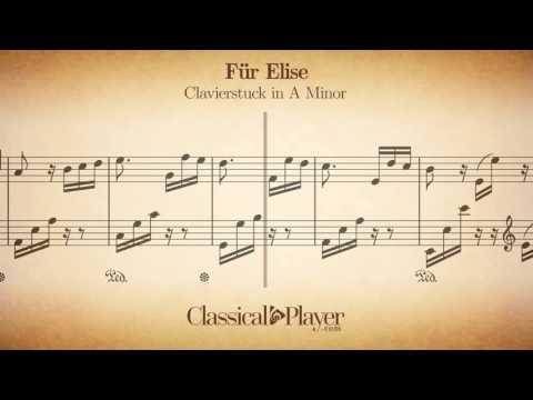 Für Elise - Clavierstuck in A Minor - WoO 59