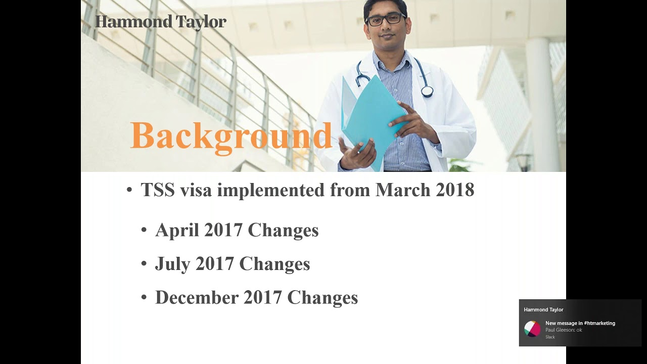 Webinar - What the New Temporary Skill Shortage TSS Visa Means for Employer  Sponsored Migration