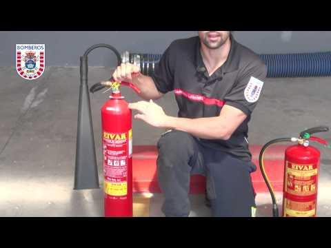 Elección y utilización de extintores de incendios