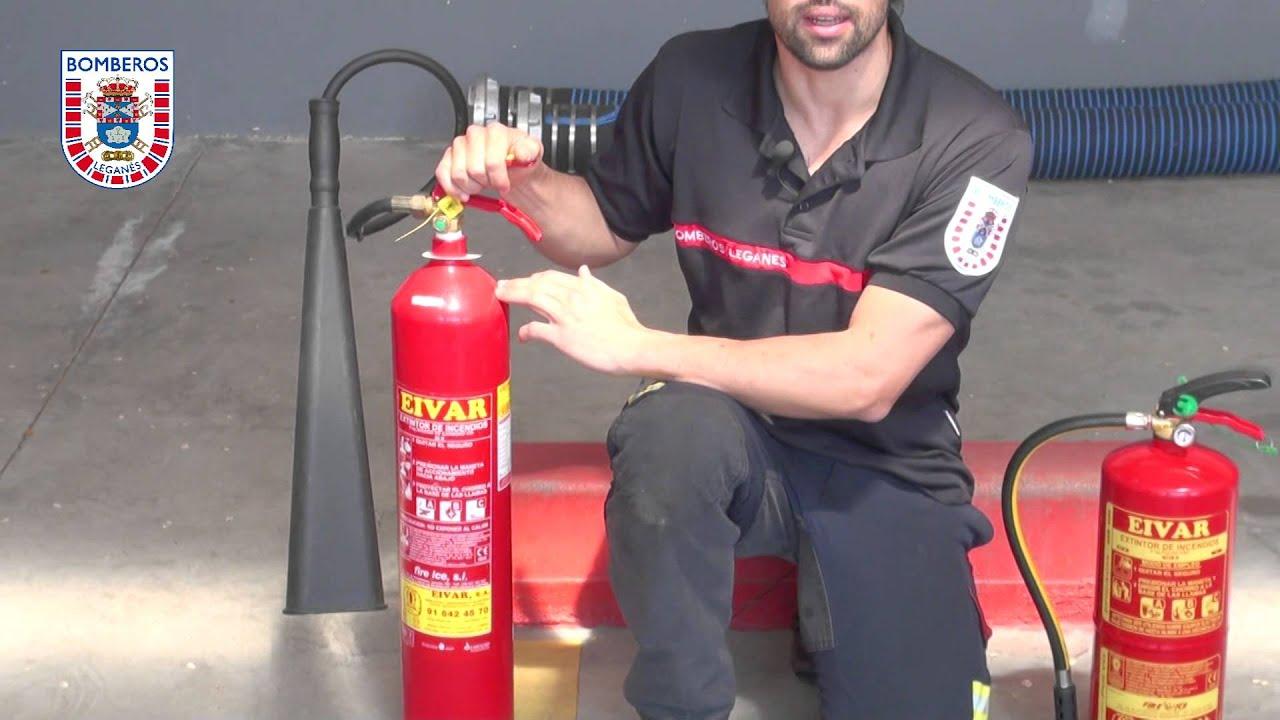 Como usar un extintor correctamente prevencion t safety - Extintor para casa ...