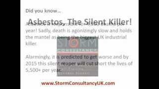 Asbestos - The UK's Silent Killer - StormConsultancyUK.com - Be part of It...