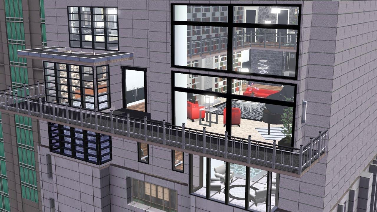the sims 3 modern loft youtube