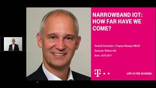 Webinar: NarrowBand IoT - How far have we come?