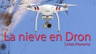 La nieve en Dron (Leitza - Navarra)
