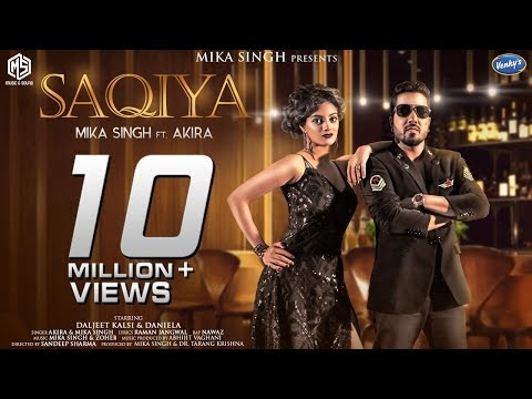 SAQIYA | Full Video | Mika Singh | Akira | Music & Sound | Latest Hindi Song 2018