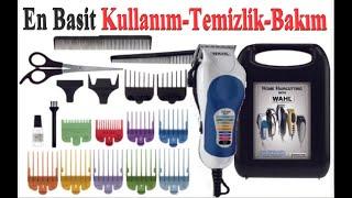 Tıraş Makinası Kullanımı Temizliği ve Bakımı