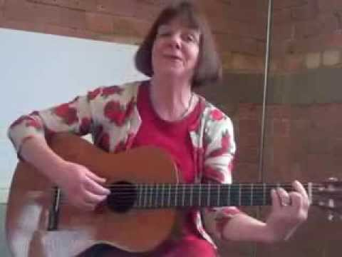 Julia Donaldson singing Funny Face from The Gruffalo Song and Other Songs