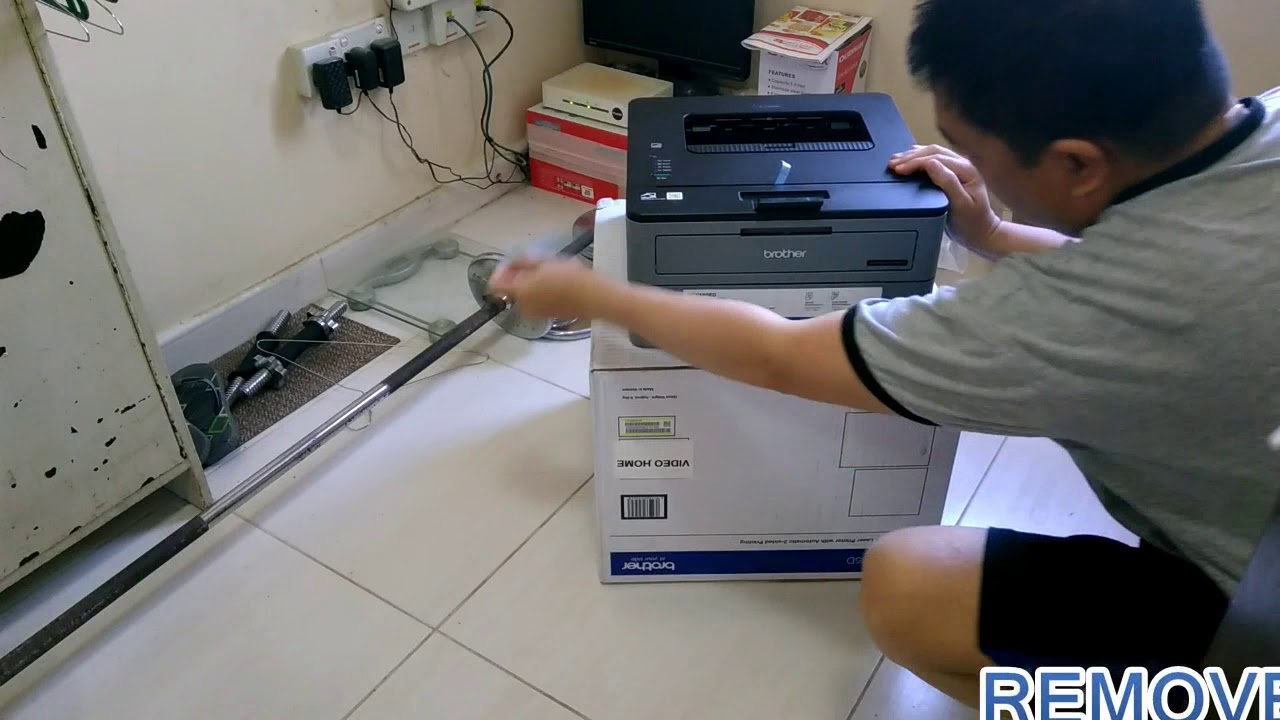 Unboxing Brother Hl L2335d Printer Youtube