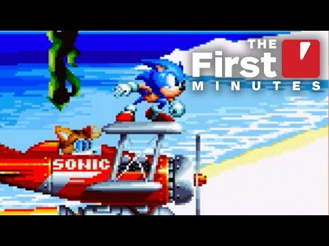The First 7 Minutes of Sonic Mania