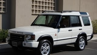 2004 Land Rover Discovery SE Chawton White ONLY 63,000 MILES!!!