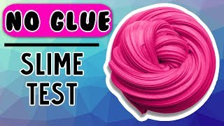 NO GLUE SLIME! AMAZING TESTING 5 MORE NO GLUE SLIME RECIPES! 1 Ingredient Slime