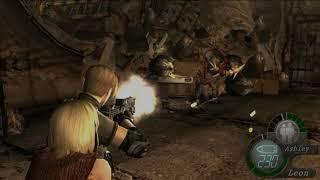 Resident Evil 4 - Chapter 5-2 02 Base - Wrecking Arena