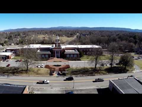 City of Maryville TN from above