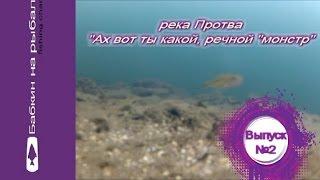 '' Бабкин на рыбалке '' Выпуск №2   Ах вот ты какой, речной ''монстр''. Подледные съемки.